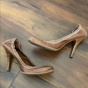Aldo High Heel Leather Shoes Pumps